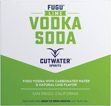 Cutwater Lime Vodka Soda