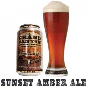 Grand Canyon Sunset Amber