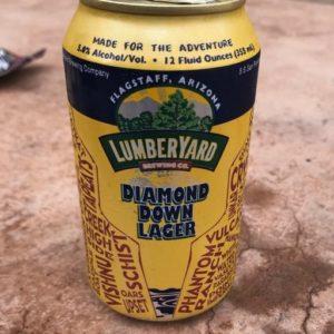 Lumberyard Diamond Down Lager